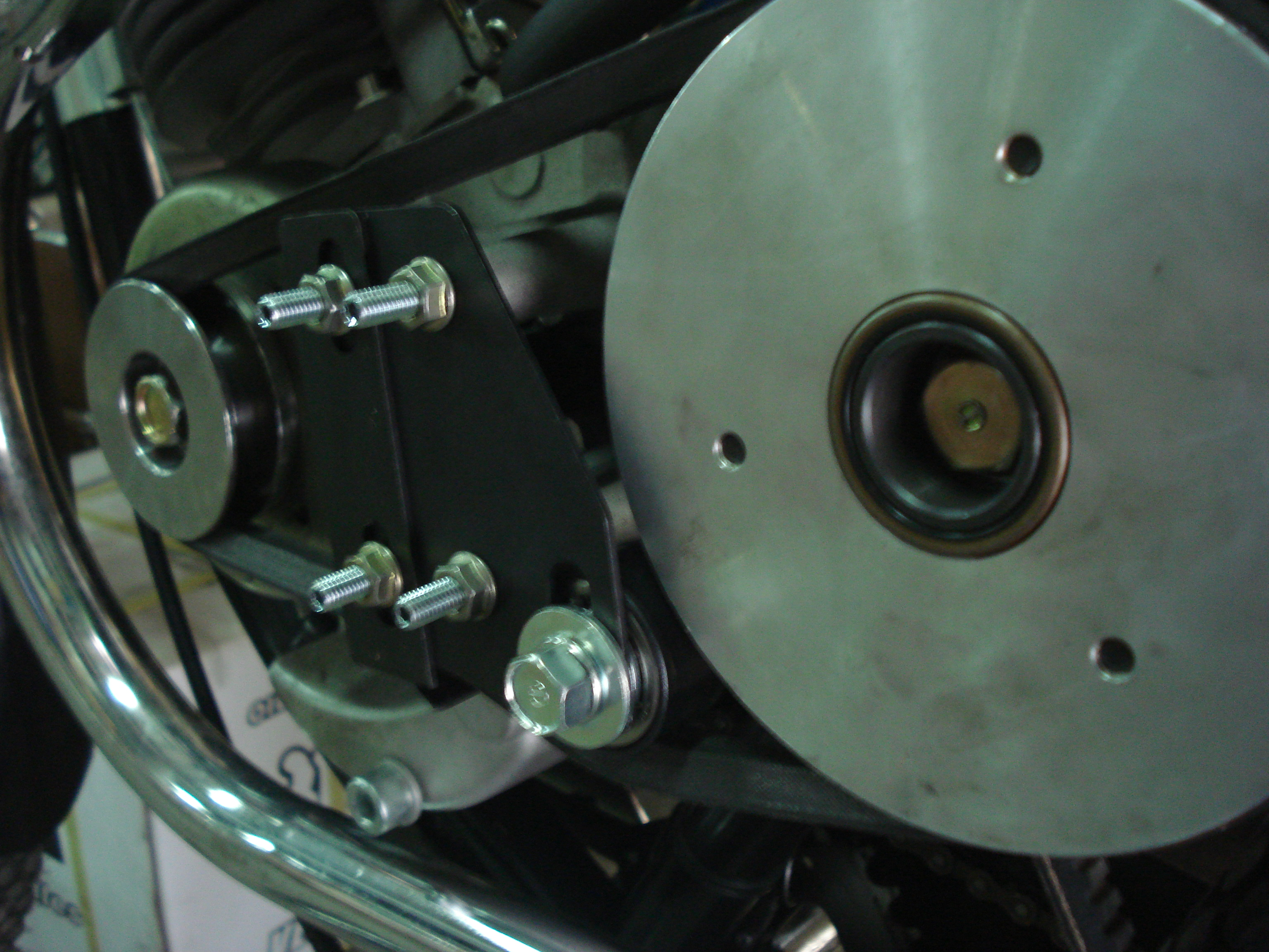 Belt tensioner kit fits Cruzzer whizzer motorbikes and motorized bicycles