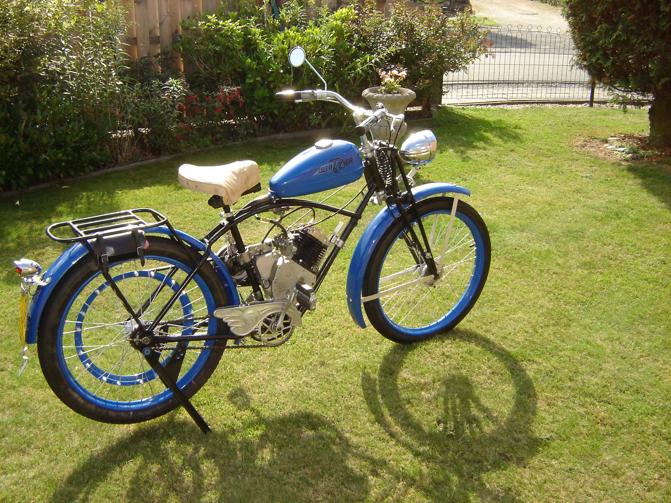Vintage Whizzer Motorbikes From Belgium 171 Wc1manufacturer