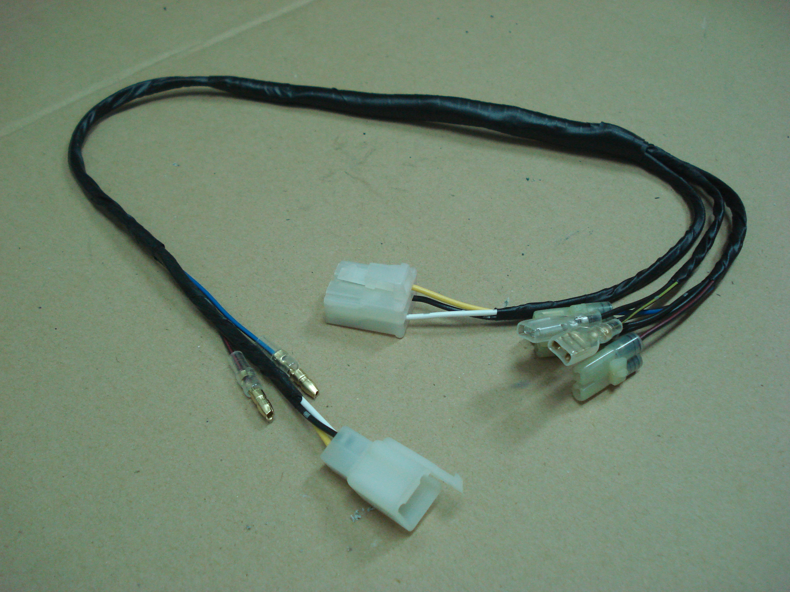 simple wiring harness for whizzer wc1 and earlier ne5 motorbikes 171 wc1manufacturer s