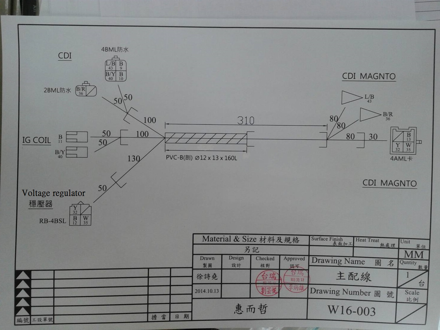 cruzzer basic wiring harness diagram  u00ab wc1manufacturer u0026 39 s blog
